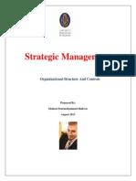 Mohsen Strategic Management