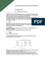 Intensidad de Lluvias - métodos de calculo