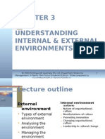 Chapter 3 Understanding Internal & External Environments