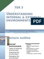 Chapter 3 Understanding Internal & External Environments