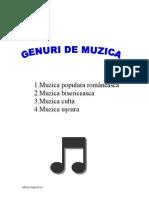 Genuri de Muzica manele house etc