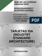 Tarjetas ISA,PCI,PCI Express