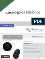 Catalogo de Teléfonos Octubre 2014