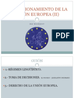 El Funcionamiento de La Unión Europea (II