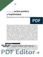 Lorena Soler dominación política y legitimidad