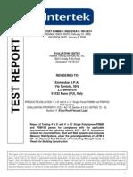 INTERTEK Floor Roof Flex Test Report Final