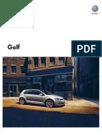 Ficha Tecnica Golf 2015