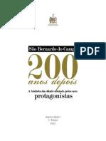 Livro Resgate Da Memoria - SBC 200 Anos Depois