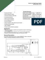 Infineon BTS117TC DS v01 00 En