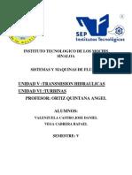 Transmisiones Hidraulicas y Unidad Vi Turbinas