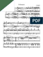 Polonaise D 599 Nr.1 Schubert