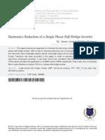 Harmonics Reduction of a Single