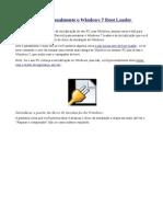 Como Reparar Manualmente o Windows 7 Boot Loader Problemas
