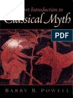 64122219 Powell Barry B a Short Introduction to Classical Myth 2002