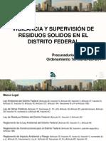 4 Vigilancia y Supervición de Residuos en DF