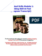 01 - Building Skill at Feel
