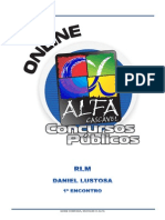 Alfacon Francelmo Tecnico Do Inss Raciocinio Logico Matematico Daniel Lustosa 1o Enc 20141031182112