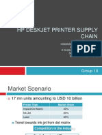 HP DeskJet Printer Supply Chain_Group 10_SecF