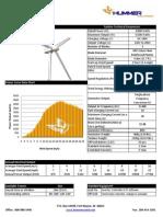 3kW Spec Sheet Hummer Wind Power