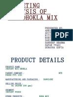 Mtr Dhokla Mix