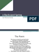 A Backward Spring