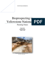 Megan Kelly - Bioprospecting in Yellowstone