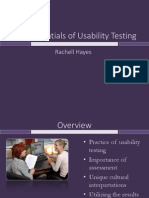 the essentials of usability testing