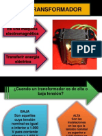 Diapositivas TRANSFORMADOR