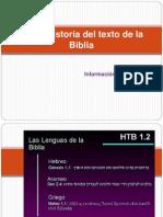 Breve Historia Tex to Bibl i Co