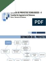 Gerencia Proyectos V