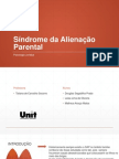 Síndrome Da Alienação Parental- UNIT