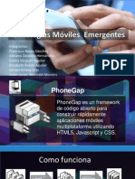 Tecnologias emergentes Moviles