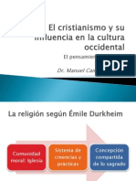 El Cristianismo y su influencia en la cultura occidental