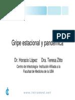 Gripe Estacional y Pandemica