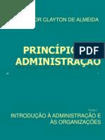 Introdução a Administração e as Organizações - Parte 1