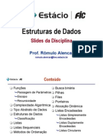 Estruturas de Dados - Slides Da Disciplina