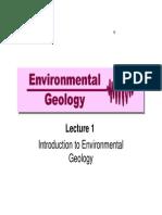 environment geology