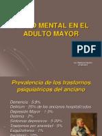 Salud Mental Adulto Mayor Prevalencia