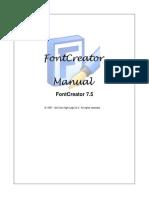 Font Creator Manual