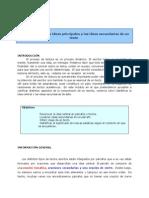 Cómo Identificar Las Ideas Principales y Las Ideas Secundarias de Un Texto