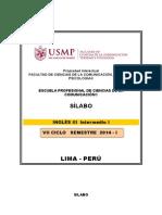 Silabo Inglés III - Intermedio I (2)