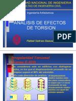 Efectos de Torsión