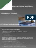 SISTEMAS JURIDICOS COMTEMPORANEOS