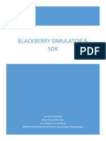 BlackBerry Smartphone Simulator y sdk