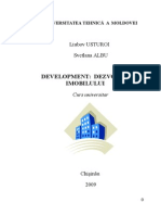 Development Curs Universitar