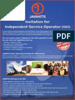 Invitation to ISO