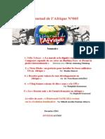Journal de l'Afrique n°5