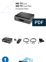 WD TV Live HD Media Player Quick Installation Guide