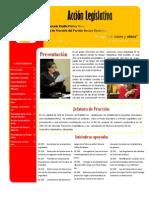 Rendición de cuentas de la Diputada, y Jefa de Fracción del PAC, Emilia Molina Cruz.