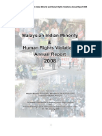 Malaysian indians Annual Human Rights Report 2008